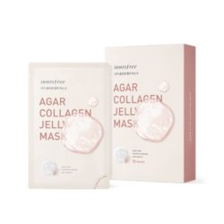 Innisfree Agar Collagen Jelly Mask Set korean cosmetic cleansing product online shop malaysia china