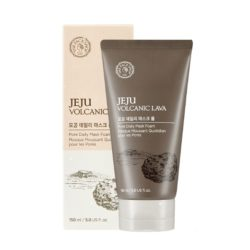 The Face Shop Jeju Volcanic Lava Pore Daily Mask Foam korean cosmetic skincare product online shop malaysia china hong kong