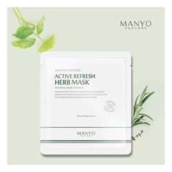 Manyo Factory Active Refresh Herb Mask 25ml korean cosmetic skincare shop malaysia singapore indonesia