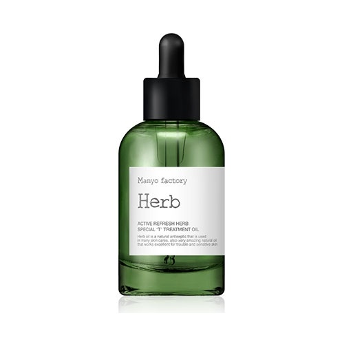 Manyo Factory Active Refresh Herb Special Treatment Oil 40ml korean cosmetic skincare shop malaysia singapore indonesia
