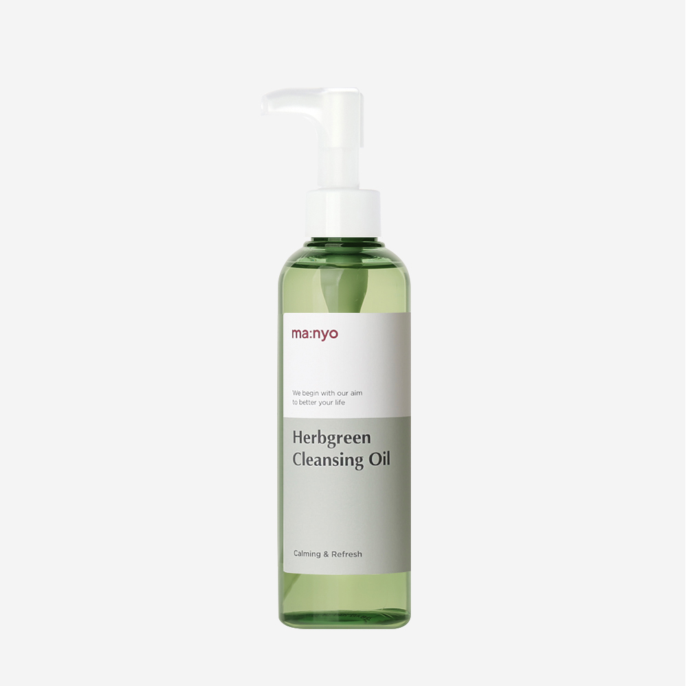 Manyo Factory Herb Green Cleansing Oil Germany Poland Finland