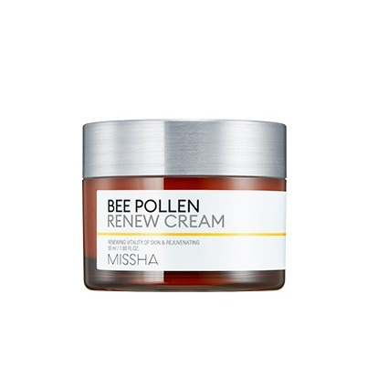 Missha Bee Pollen Renew Cream korean skincare product online shop malaysia china india0