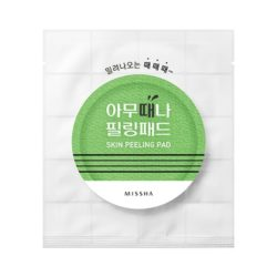 Missha Skin Peeling Pad korean skincare product online shop malaysia china india
