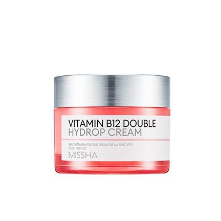 Missha Vitamin B12 Double Hydrop Cream korean skincare product online shop malaysia china india
