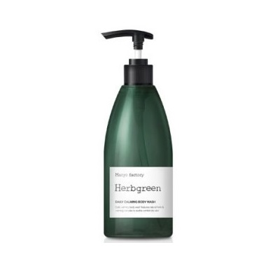 Manyo Factory Herbgreen Daily Calming Body Wash 350ml korean cosmetic skincare shop malaysia singapore indonesia