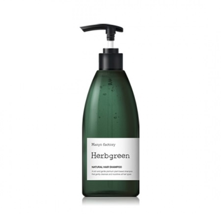 Manyo Factory Herbgreen Natural Hair Shampoo 530ml korean cosmetic skincare shop malaysia singapore indonesia