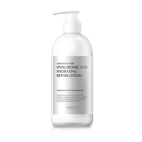 Manyo Factory Hyaluronic Acid Hydrating Repair Lotion 300ml korean cosmetic skincare shop malaysia singapore indonesia
