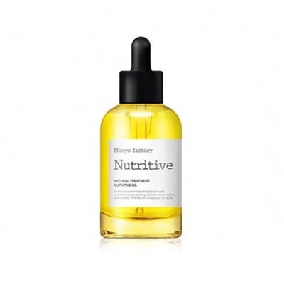 Manyo Factory Natural Treatment Nutritive Oil 40ml korean cosmetic skincare shop malaysia singapore indonesia
