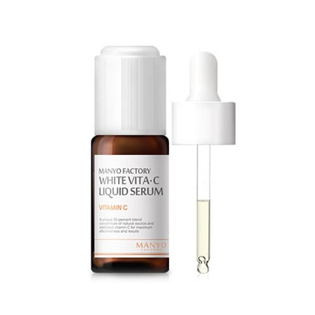Manyo Factory White Vita C Liquid Serum 10ml korean cosmetic skincare shop malaysia singapore indonesia