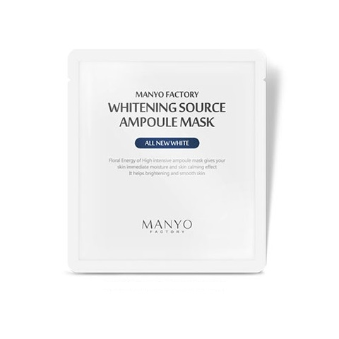 Manyo Factory Whitening Source Ampoule Mask 25ml korean cosmetic skincare shop malaysia singapore indonesia