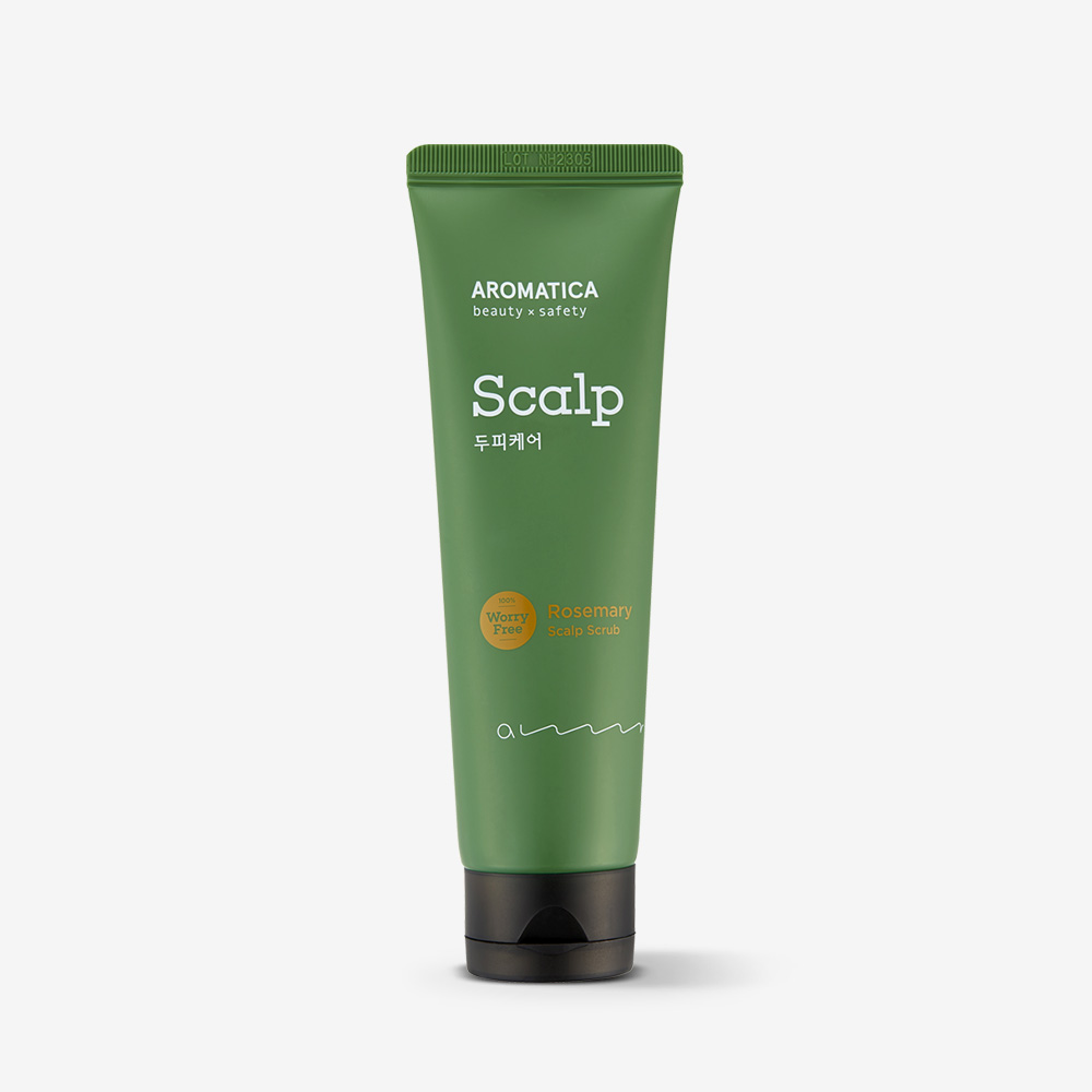 Aromatica Rosemary Scalp Scrub 165g korean cosmetic skincare shop malaysia singapore indonesia