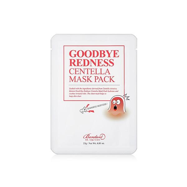 Benton Goodbye Redness Centella Mask Pack korean cosmetic online shop malaysia chian