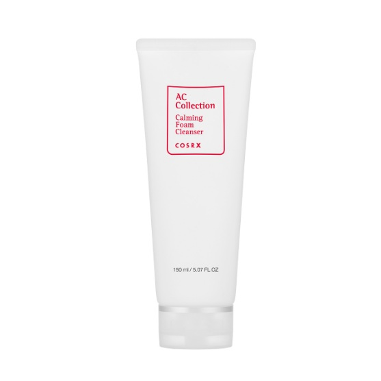COSRX AC Collection Calming Foam Cleanser korean cosmetic skincare product online shop malaysia india japan0
