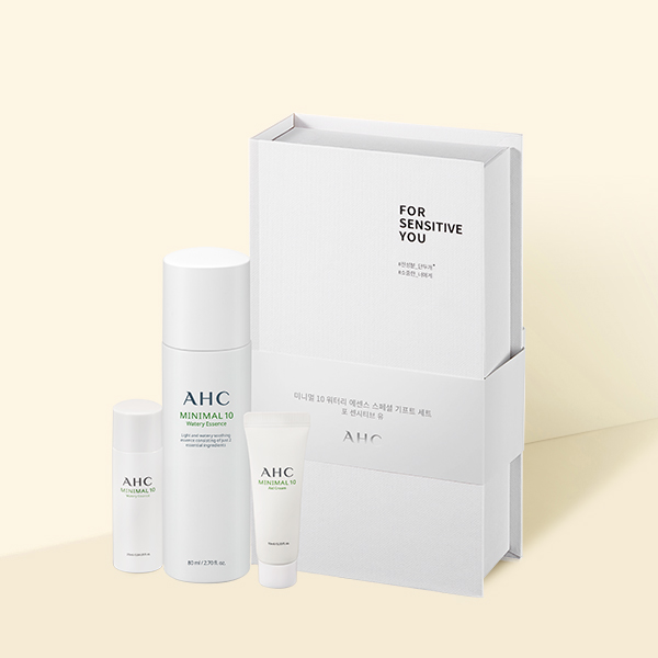 AHC Minimal 10 Special Gift Set 115ml korean cosmetic skincare shop malaysia singapore indonesia