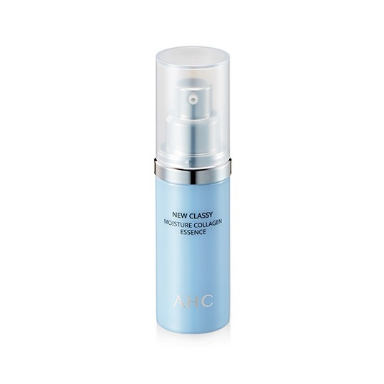 AHC New Classy Moisture Collagen Essence 28ml korean cosmetic skincare shop malaysia singapore indonesia