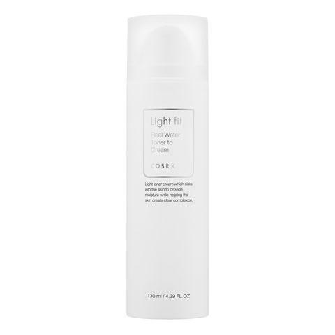 COSRX Light Fit Real Water Toner To Cream korean cosmetic skincare product online shop malaysia india japan