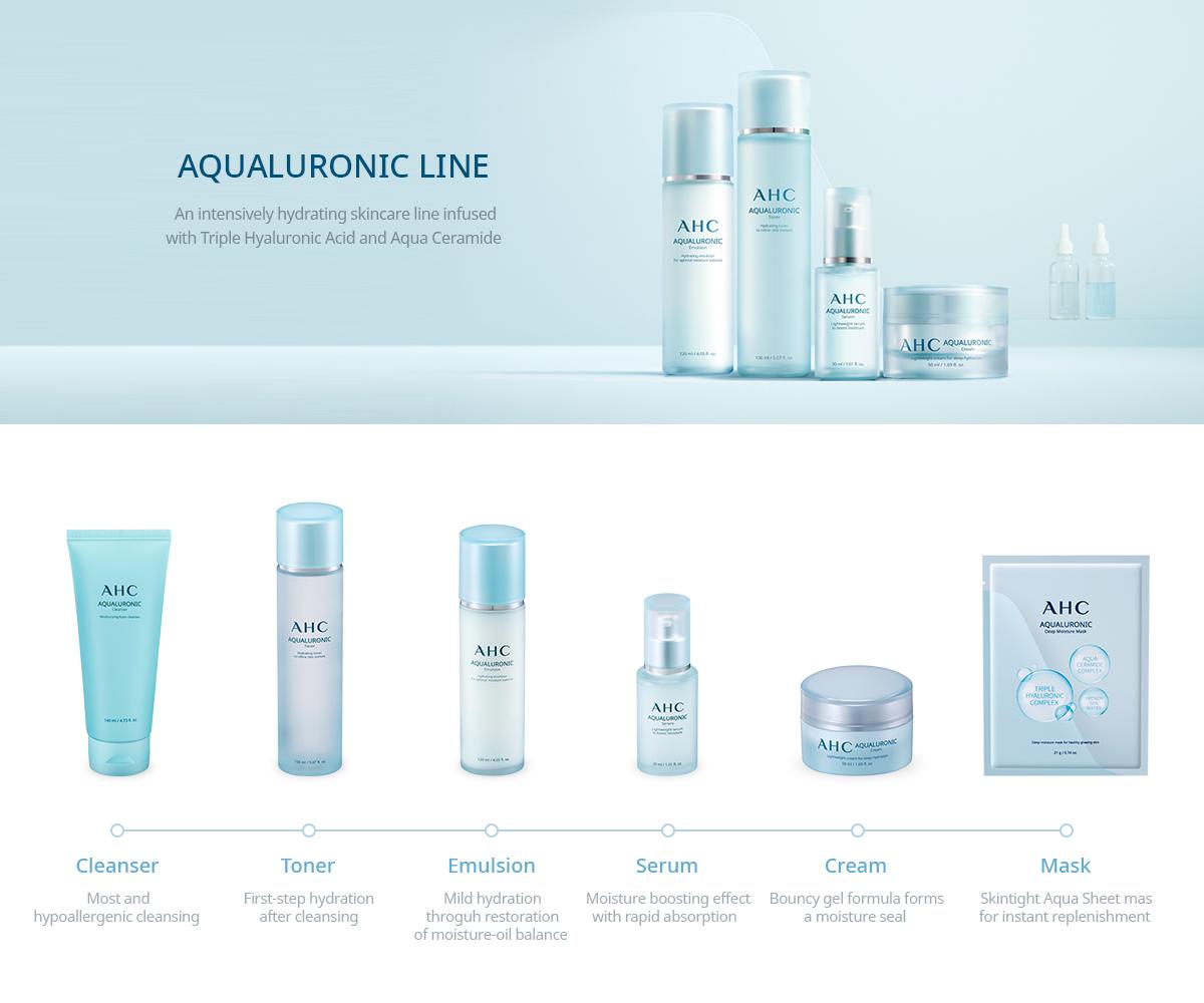 AHC Aqualuronic Emulsion 120ml malaysia singapore indonesia