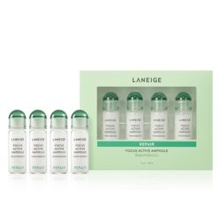 Laneige Focus Active Ampoule [Panthenol Acid] korean cosmetic skincare product online shop malaysia china singapore
