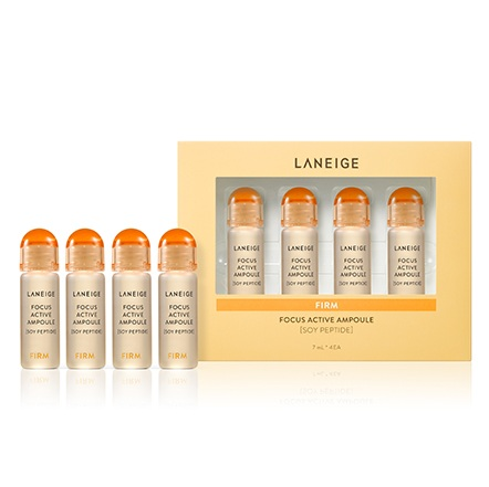 Laneige Focus Active Ampoule [Soy Peptide] korean cosmetic skincare product online shop malaysia china singapore