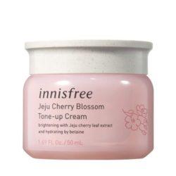 Innisfree Jeju Cherry Blossom Tone Up Cream korean skincare product online shop malaysia china hong kong