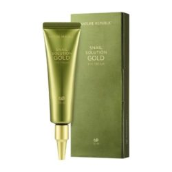 Nature Republic Snail Solution Gold Eye Cream korean cosmetic skincare product online shop malaysia china hong kong macau1