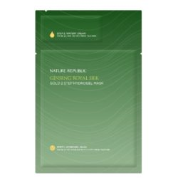 Nature Republic Ginseng Royal Silk Gold 2 step Hydrogel Mask korean cosmetic skincare product online shop malaysia china hong kong macau