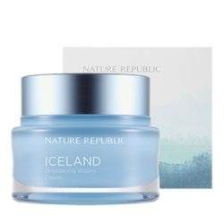 Nature Republic Iceland Brightening Watery Cream korean cosmetic skincare product online shop malaysia china hong kong macau