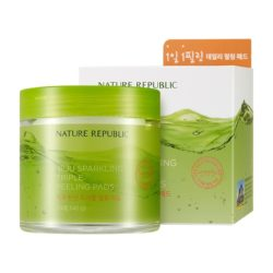 Nature Republic Jeju Sparkling Triple Peeling Pad korean cosmetic skincare product online shop malaysia china hong kong macau1