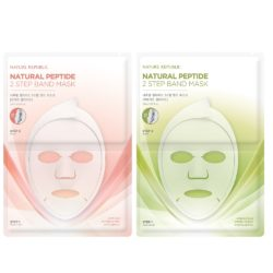 Nature Republic Natural Peptide 2 step Band Mask korean cosmetic skincare product online shop malaysia china hong kong macau1