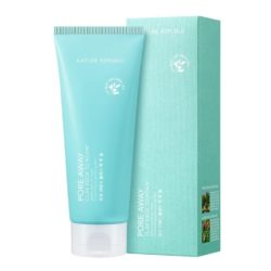 Nature Republic Pore Away Clay Pack to Foam korean cosmetic skincare product online shop malaysia china hong kong macau1