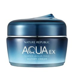 Nature Republic Super Aqua Max EX Watery Cream korean cosmetic skincare product online shop malaysia china hong kong macau1