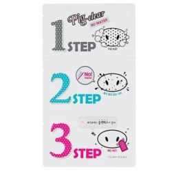 Holika Holika Pig Clear No Water Black Head 3 Step Kit korean cosmetic skincare product online shop malaysia China Hong kong