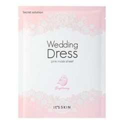 It's Skin Secret Solution Wedding Dress Pink Mask korean skincare product online shop malaysia usa Macau1