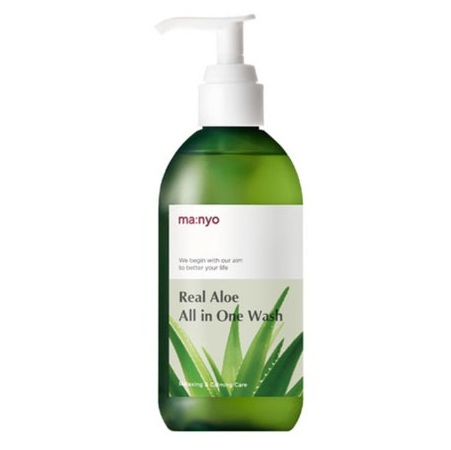 Manyo Factory Real Aloe All In One Wash korean skincare product online shop malaysia China india