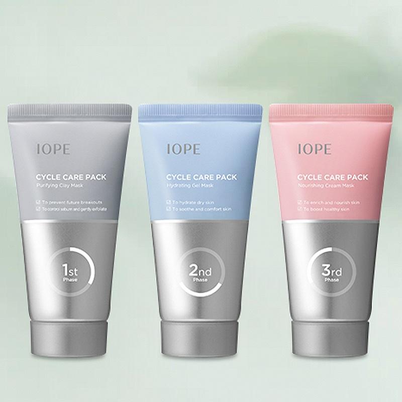 IOPE Cycle Care Pack korean skincare product online shop malaysia hong kong china1jpg