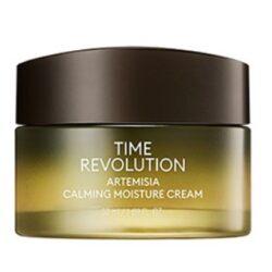 Missha Time Revolution Artemisia Calming Moisture Cream korean skincare product online shop malaysia China Poland
