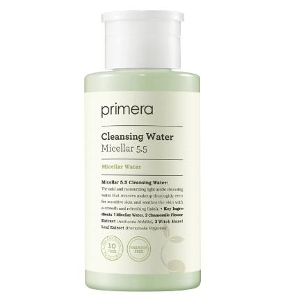 primera Micellar 5.5 Cleansing Water korean cleansing product online shop malaysia China hong kong