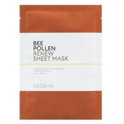 Missha Bee Pollen Renew Sheet Mask korean skincare product online shop malaysia China Poland