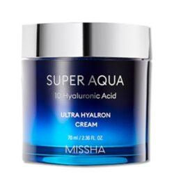 Missha Super Aqua Ultra Hyalron Cream korean skincare product online shop malaysia China Poland