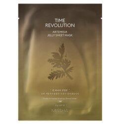 Missha Time Revolution Artemisia Jelly Sheet Mask korean skincare product online shop malaysia China Poland