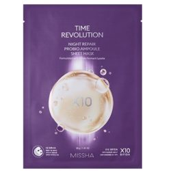 Missha Time Revolution Night Repair Probio Ampoule Mask korean skincare product online shop malaysia China Poland