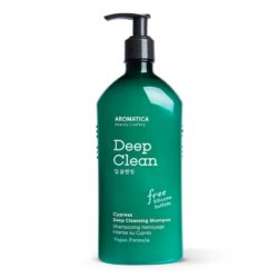 Aromatica Cypress Deep Cleansing Shampoo korean skincare product online shop malaysia China singapore