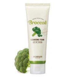 Skinfood Fresh Green Pure Broccoli Cleansing Foam korean skincare product online shop malaysia Taiwan Japan1