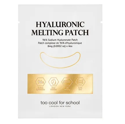 too cool for school Hyaluronic Melting Patch 1 pacth x 4ea x 4 sheets korean skiancare product online shop malaysia singapore new zealand1
