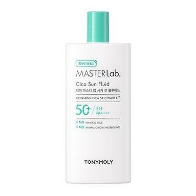 TONYMOLY Derma Master Lab Cica Sun Fluid korean skincare product online shop malaysia China india