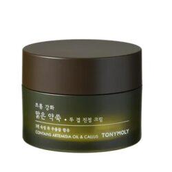 TONYMOLY From Ganghwa Pure Artemisia Two Layering Calming Cream korean skincare product online shop malaysia hong kong new zealand