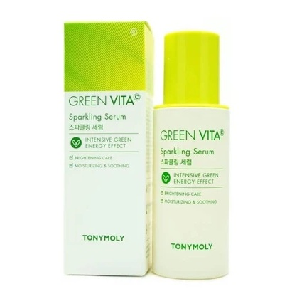 TONYMOLY Green Vita C Sparkling Serum korean skincare product online shop malaysia China india