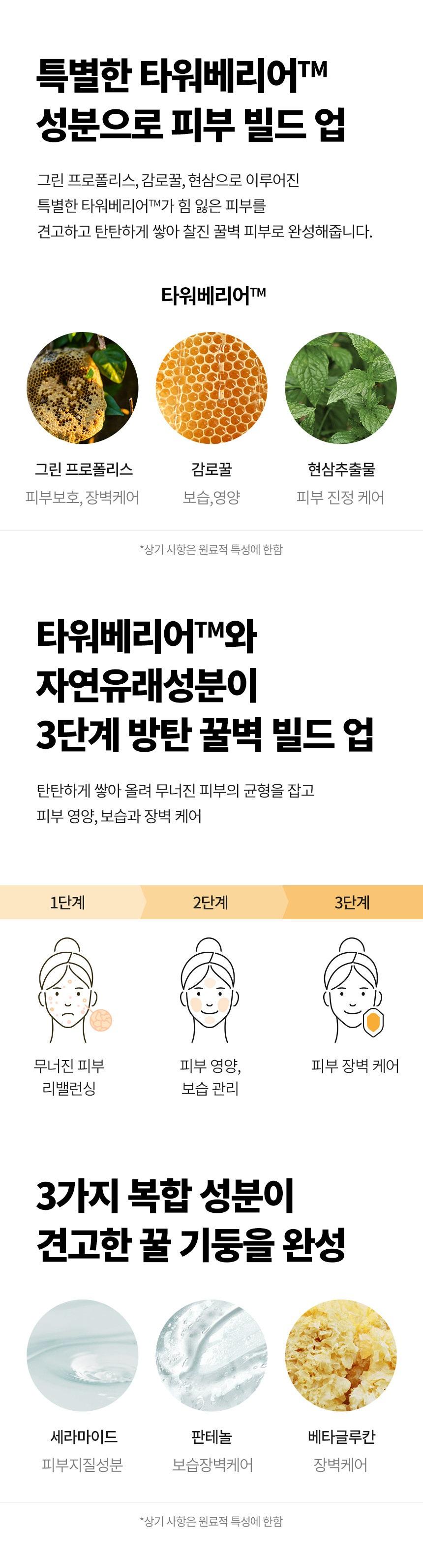 TONYMOLY Propolis Tower Barrier Rebalancing Toner korean skincare product online shop malaysia hong kong new zealand3