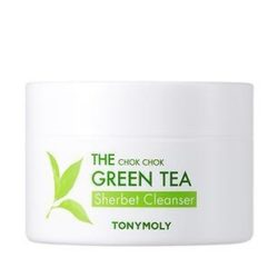 TONYMOLY The Chok Chok Green Tea Sherbet Cleanser korean cosmetic cleansing product online shop malaysia China poland