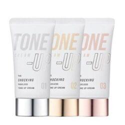 TONYMOLY The Shocking Fadeless Tone Up Cream korean cosmetic makeup product online shop malaysia usa italy0